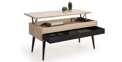 Comprar mesa de centro elevable vintage en Amazon