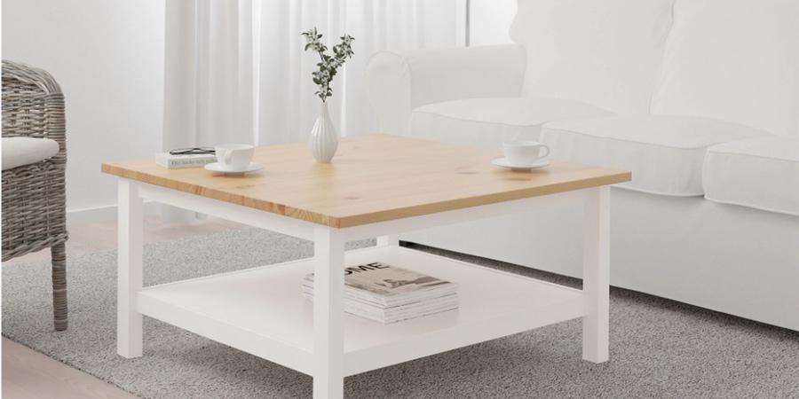 Mesa de centro auxiliar Ikea Hemnes,ikea mesa de centro elevable, mesa elevable negra ikea